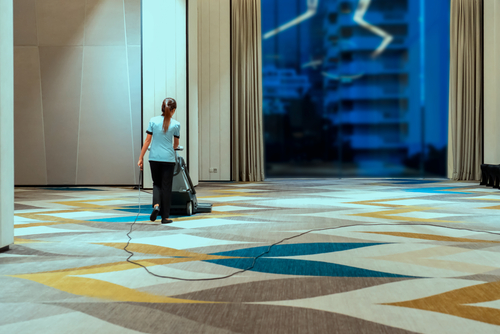 Carpet Cleaning in Hotels