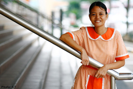 Singapore Domestic Worker