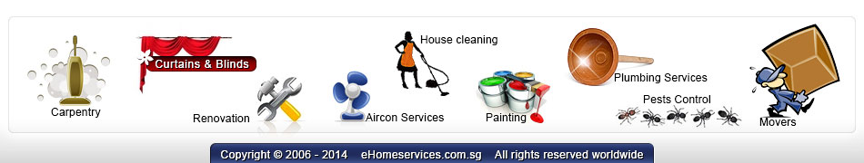 aircon services, part time maid, painting services, plumbing help, pest controls, movers and storage in Singapore